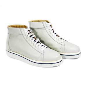 Sneakers rialzate uomo Made in Italy - mod. Smith